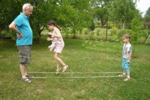 nyári játékok a szabadban