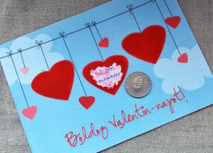 Valentin napi meglepetés házilag