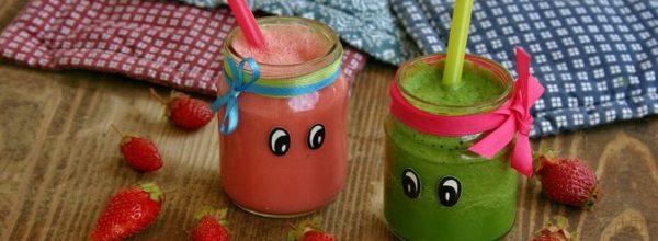 Egészséges gyümölcs- és zöldséglevek válogatós gyerekeknek