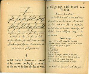régi ábécés olvasókönyvek