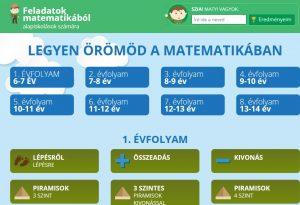 Matematika interaktív feladatok