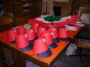 Huszárcsáó készítése március 15-re